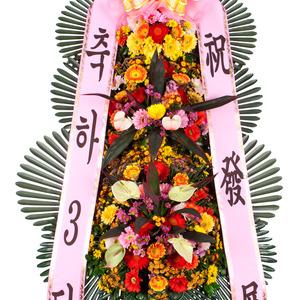 (김영란화환)3축하3단화환