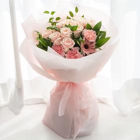 핑크장미꽃다발(MD추천)