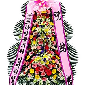 ♣인기상품♣축하3단화환